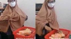 Viral! Wanita Berhijab Kepergok Mencuri